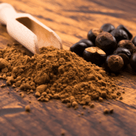 botanical guarana seed powder