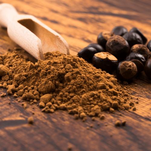 botanical guarana seed powder